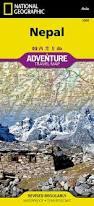Maps Nepal by Nepal Travel Maps International Adventure Map Amazon Co Uk
