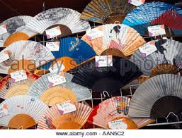 japanese fans for sale fans for sale in japan stock photo royalty free image 3633649 alamy