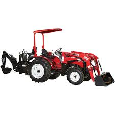 nortrac 35xt 35 hp 4wd tractor with front end loader u0026 backhoe