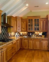 Hickory Wood Kitchen Cabinets Hickory Kitchen Cabinet Modern And Luxury Cabinets Pretty Golden
