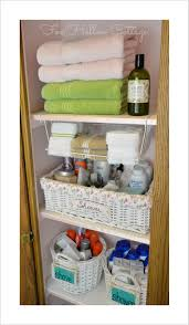bathroom closet organization ideas project linen closet reveal pretty and organized fox hollow