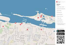 Nassau Map Nassau Printable Tourist Map Sygic Travel