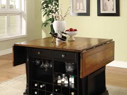 black and cherry kitchen island w countertop
