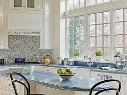kitchen glass tile backsplash modern kitchen backsplash glass