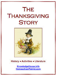 the thanksgiving story homeschool freebie of the day