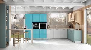 cuisine bleu turquoise enchanteur cuisine bleu turquoise avec voici cuisines ultra coloraes