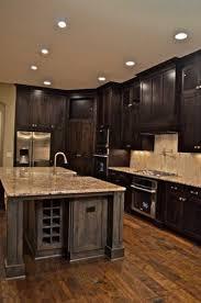 Does Flooring Go Under Cabinets 30 Stunning Kitchen Designs Smooth Face Oak Hardwood Flooring