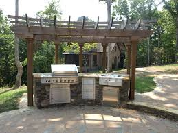 amazing outdoor kitchens cooking grilling and patios endearing