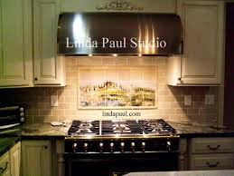 Rustic Kitchen Backsplash by Kitchen Wonderful Kitchen Backsplash Murals Decorative Ceramic