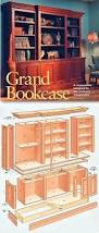 Basic Wood Bookshelf Plans by Best 25 Bookshelf Plans Ideas On Pinterest Bookcase Plans