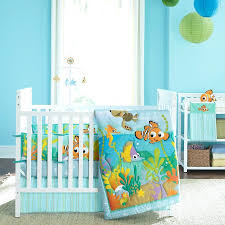 Seashell Crib Bedding Decoration Seashell Crib Bedding Baby Finding Reef 4 Set