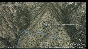 mt lemmon hiking trails map mt lemmon ascent tucson arizona
