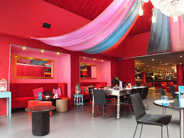 catchy busy restaurant interior photo of landscape remodelling
