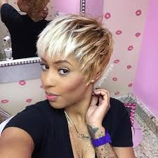 hair weave for pixie cut 50 short hairstyles for black women stayglam