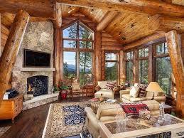 Log Home Decor Log Cabin Homes Exterior Interior Furniture And Decor Ideas