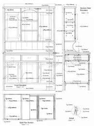 kitchen furniture plans 2945 kitchen dresser plans furniture plans cabinet