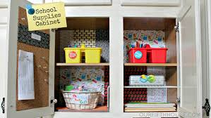 organizing homework supplies back to preparation our
