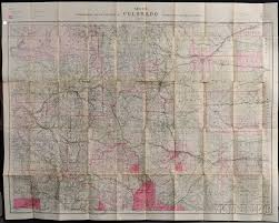 Map Of The State Of Colorado by Colorado Louis Nell Nell U0027s Topographical Map Of The State Of
