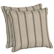 home decorators outdoor pillows home decorators collection sunbrella cove pebble oversized lumbar