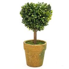 Fake Tree by Wedding Arrangement Artificial Garden Grass Buxus Balls Boxwood