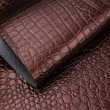 Faux Leather Paint - 100x135cm imitation crocodile leather paint pvc faux black leather