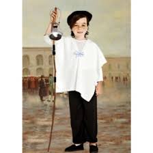 vestimenta de sereno de 1810 traje de vendedor de velas epoca colonial disfraces para niños en