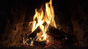 4k burning fireplace with crackling fire sounds 6 hours youtube