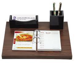 Desk Pencil Holder Office 2016 Sales Wooden Desk Calendar Name Card Pencil Holder