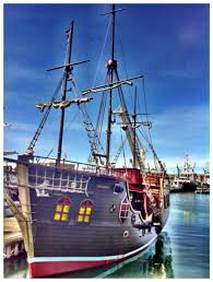 official cape town pass jolly roger pirate ship