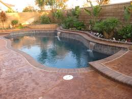 grotto and water slide menifee swimming pools solar electricity