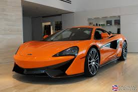 orange mclaren rear used 2016 mclaren 570s roslyn ny
