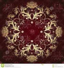 beautiful pattern beautiful gold pattern stock vector image of curve decor 35859374