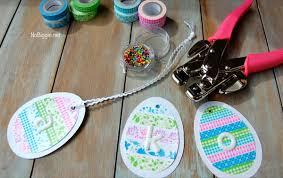 washi easter crafts free printable