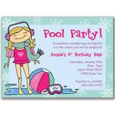 swimming and snowflakes a winter birthday pool party mygrafico