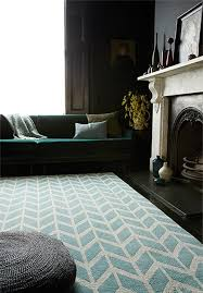 Modern Rugs Uk Arlo Chevron Blue Ar05 Modern Rugs For Sale Rugs Uk