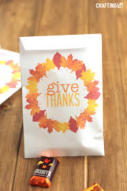thanksgiving m printable thanksgiving treat bags craftinge e