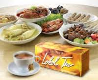 Lokol Tea makan tetap enak kolesterol tetap aman griya rog rog asem