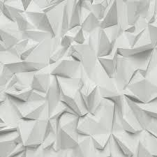 p u0026s 3d effect triangle pattern geometric textured wallpaper 42097 10