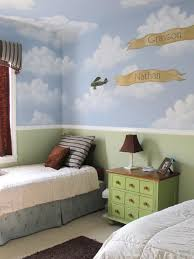 lovely kids room design ideas with blue sky wall mural wallpaper lovely kids room design ideas with blue sky