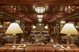 Ralph Lauren Dining Room Table Peek Inside The Polo Bar Ralph Lauren U0027s Stunning Handsome New