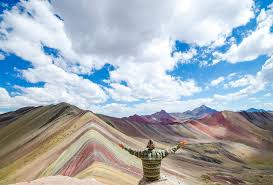welcome to the incredible rainbow mountains of peru
