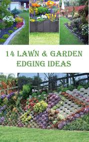 Garden Dividers Ideas 14 Best Lawn And Garden Edging Ideas Diys To Do