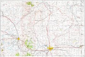 Cheyenne Map Download Topographic Map In Area Of Cheyenne Laramie Burns