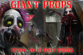 halloween horror props giant sized props creepy collection haunted house u0026 halloween props