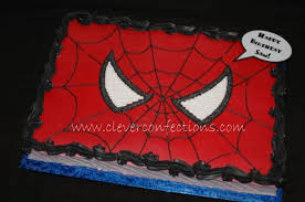 spiderman face cakecentral com