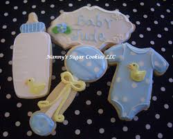 nanny u0027s sugar cookies llc baby shower cookies