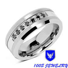 mens wedding bands with diamonds mens diamond wedding band ebay