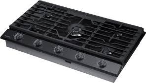Westinghouse 5 Burner Gas Cooktop Samsung Na36k6550tg 36 Inch Gas Cooktop With 5 Sealed Burners