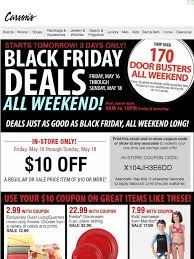carsons black friday sale carson u0027s black friday deals start tomorrow u2022 10 off 10 coupon