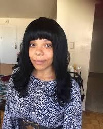 hairstyles bob with bangs medium length black medium bob with bangs medium length hairstyles with bangs